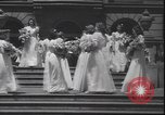 Image of graduation ceremony Philadelphia Pennsylvania USA, 1940, second 10 stock footage video 65675059022