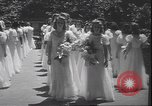 Image of graduation ceremony Philadelphia Pennsylvania USA, 1940, second 12 stock footage video 65675059022
