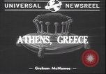 Image of Ioannis Metaxas Athens Greece, 1940, second 2 stock footage video 65675059024