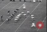 Image of football game Evanston Illinois USA, 1940, second 4 stock footage video 65675059026