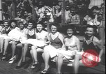 Image of prettiest legs contest Palisades Park New Jersey USA, 1943, second 11 stock footage video 65675059037