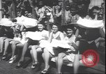 Image of prettiest legs contest Palisades Park New Jersey USA, 1943, second 12 stock footage video 65675059037