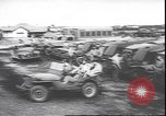 Image of military jeep Australia, 1943, second 7 stock footage video 65675059040
