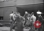 Image of German prisoners of war New York United States USA, 1945, second 10 stock footage video 65675059044