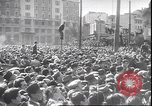 Image of dead body of Mussolini Milan Italy, 1945, second 8 stock footage video 65675059045