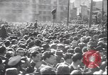 Image of dead body of Mussolini Milan Italy, 1945, second 10 stock footage video 65675059045