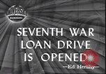 Image of 7th War Bond drive New York City USA, 1945, second 1 stock footage video 65675059046