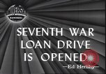 Image of 7th War Bond drive New York City USA, 1945, second 2 stock footage video 65675059046