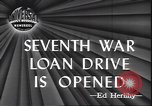 Image of 7th War Bond drive New York City USA, 1945, second 3 stock footage video 65675059046