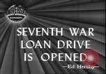 Image of 7th War Bond drive New York City USA, 1945, second 4 stock footage video 65675059046