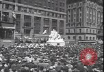 Image of 7th War Bond drive New York City USA, 1945, second 8 stock footage video 65675059046