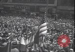 Image of 7th War Bond drive New York City USA, 1945, second 9 stock footage video 65675059046