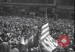 Image of 7th War Bond drive New York City USA, 1945, second 11 stock footage video 65675059046