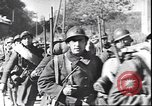 Image of French troops viewing wrecked German equipment France, 1940, second 7 stock footage video 65675059057