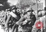Image of French troops viewing wrecked German equipment France, 1940, second 8 stock footage video 65675059057