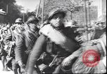 Image of French troops viewing wrecked German equipment France, 1940, second 9 stock footage video 65675059057