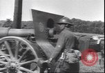 Image of M1917 155mm artillery piece France, 1940, second 9 stock footage video 65675059059