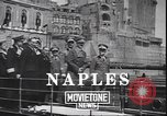 Image of Italian naval maneuver Naples Italy, 1943, second 4 stock footage video 65675059064