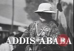 Image of Emperor Haile Selassie Addis Ababa Ethiopia, 1944, second 2 stock footage video 65675059068