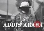 Image of Emperor Haile Selassie Addis Ababa Ethiopia, 1944, second 3 stock footage video 65675059068