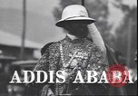 Image of Emperor Haile Selassie Addis Ababa Ethiopia, 1944, second 4 stock footage video 65675059068