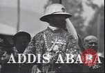 Image of Emperor Haile Selassie Addis Ababa Ethiopia, 1944, second 5 stock footage video 65675059068
