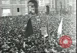 Image of May Day celebrations Rome Italy, 1945, second 2 stock footage video 65675059069