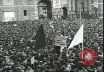 Image of May Day celebrations Rome Italy, 1945, second 4 stock footage video 65675059069