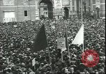 Image of May Day celebrations Rome Italy, 1945, second 5 stock footage video 65675059069