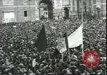 Image of May Day celebrations Rome Italy, 1945, second 6 stock footage video 65675059069