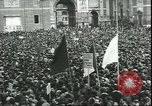 Image of May Day celebrations Rome Italy, 1945, second 7 stock footage video 65675059069