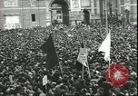 Image of May Day celebrations Rome Italy, 1945, second 9 stock footage video 65675059069