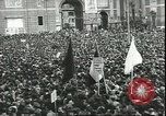 Image of May Day celebrations Rome Italy, 1945, second 11 stock footage video 65675059069