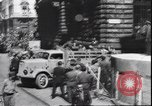 Image of German prisoners Milan Italy, 1945, second 2 stock footage video 65675059073