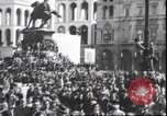 Image of Surrender celebration at Duomo di Milano Milano Italy, 1945, second 4 stock footage video 65675059076