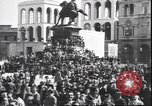 Image of Surrender celebration at Duomo di Milano Milano Italy, 1945, second 6 stock footage video 65675059076