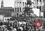 Image of Surrender celebration at Duomo di Milano Milano Italy, 1945, second 7 stock footage video 65675059076