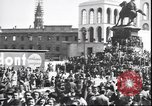 Image of Surrender celebration at Duomo di Milano Milano Italy, 1945, second 8 stock footage video 65675059076