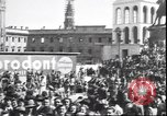Image of Surrender celebration at Duomo di Milano Milano Italy, 1945, second 9 stock footage video 65675059076