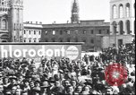 Image of Surrender celebration at Duomo di Milano Milano Italy, 1945, second 10 stock footage video 65675059076