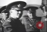 Image of Romanian and German military joint maneuvers World War 2 Romania, 1944, second 7 stock footage video 65675059090