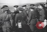 Image of Romanian and German military joint maneuvers World War 2 Romania, 1944, second 12 stock footage video 65675059090