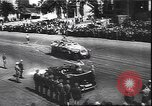 Image of German armor parade in Greece Athens Greece, 1944, second 5 stock footage video 65675059091