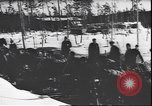 Image of German soldiers on skis in World War 2 Soviet Union, 1943, second 4 stock footage video 65675059096
