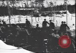 Image of German soldiers on skis in World War 2 Soviet Union, 1943, second 5 stock footage video 65675059096