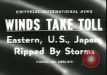 Image of Hurricane Helene United States USA, 1958, second 2 stock footage video 65675059103