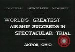 Image of Akron airship Akron Ohio USA, 1931, second 1 stock footage video 65675059118