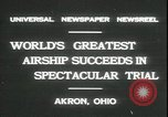 Image of Akron airship Akron Ohio USA, 1931, second 2 stock footage video 65675059118