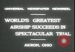Image of Akron airship Akron Ohio USA, 1931, second 4 stock footage video 65675059118