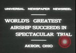 Image of Akron airship Akron Ohio USA, 1931, second 6 stock footage video 65675059118